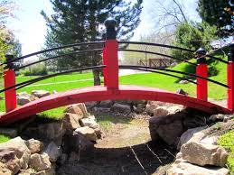 Small Picture Red Japanese Garden Bridge Design Home Design Ideas