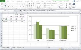 Duplicate Chart How To Copy An Excel Chart On Same Worksheet With A New Data