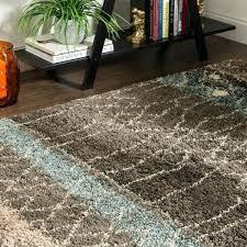 mohawk home facet bath rug collection adobe brown black area 8 x free woven
