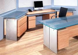 glass top office desk popular with40 office