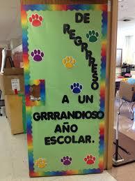 classroom door. Paw Print Classroom Decorations 37 Best Door Images On Pinterest Spanish Download