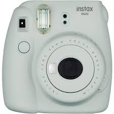 <b>FujiFilm Instax Mini</b> 9 Camera, Smoky White 16550629 - Adorama