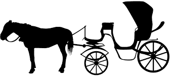 horse and wagon silhouette. horse and carriage wagon silhouette