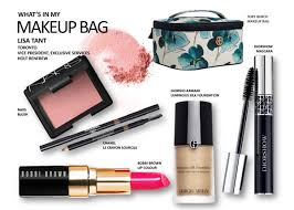 what s in your makeup bag lisa tant vice president exclusive services holt renfrew
