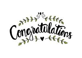 Congratulations Card Hand Lettering Calligraphy Royalty