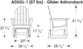 adirondack glider chair classic glider chair zoom images adirondack glider chair plans