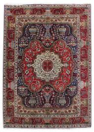 consigned persian rug 7 x10 handmade wool tabriz traditional area rugs by bestrugplace