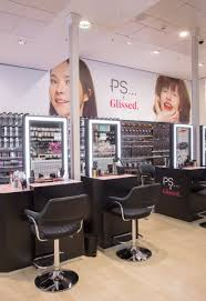 pics the launch of penneys first hair and makeup pop up ps x glissed