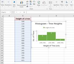 how to make a histogram in excel histogram chart in excel examples how to create