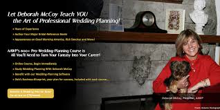 Become A Certified Wedding Planner