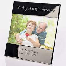 a great gift for a celebration 40th wedding anniversaryruby