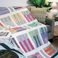 Pick-Up Sticks: Jelly Roll Precut Fabric Strip Lap Quilt Pattern ... & Pick-Up Sticks: Jelly Roll Precut Fabric Strip Lap Quilt Pattern Designed  by SARAH Adamdwight.com