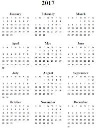 2017 Calendar Printable Free … | Pinteres…