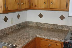 image of laminate countertop backsplash