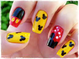 Nail art Mickey Mouse | mhilka