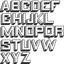 block letters 08