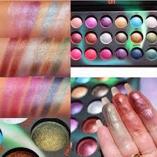 Aurora Lights 18 Color Baked Eyeshadow Palette Sharing Information Media Bh Cosmetics Aurora Palette
