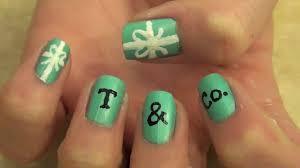 Tiffany & Co. Inspired Nail Tutorial - YouTube