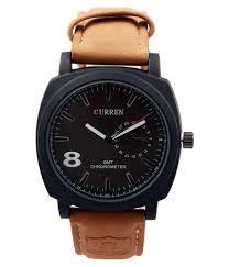 men s watch leather strap men s qurren watch manufacturer from surat leather strap men s qurren watch