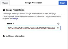 Help Widgets Google Presentation Ubc Wiki