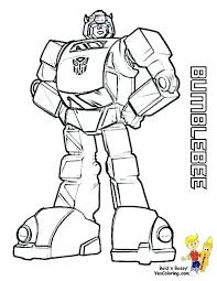 Transformers Coloring Pages To Print X Bumblebee Transformer