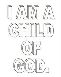 Small Picture Kids Coloring Pages child of god Pinterest Churches and
