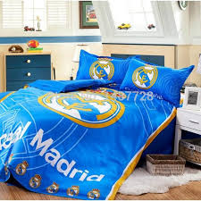 whole fans real madrid 2016 2016 bedding set duvet cover bed sheets pillow case more teams king size duvet cover white duvet cover queen from hoto