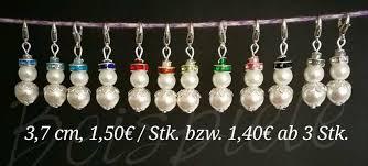 Handmade Perlen Weihnachten Schneemann Tannenbaum Anhänger