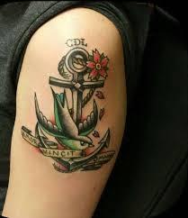 Tatuaggi Con Ancora Per Uomo Foto Qnm