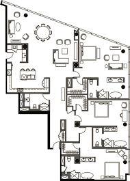3 Bedroom Penthouses In Las Vegas New Decorating