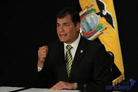 Resultado de imagen para foto rafael correa presidente ecuador