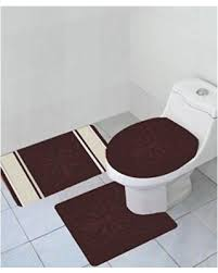 thick bath mat empire home thick 3 piece erfly high pile bathroom set with bath mat