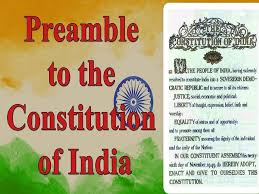 preamble of the indian consution