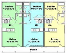 this is the related images of House Plans With Rental Apartment