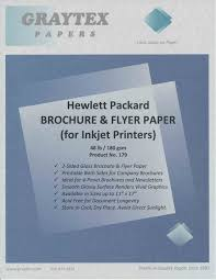 paper flyer professional glossy brochure and flyer paper