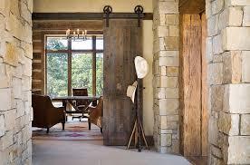 office barn doors. Home Office With Sliding Barn Doors 5 D