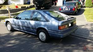 Accord, 1986, blue/blue, 2 dr. hatchback, clean