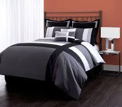 modern minimalist black bedding set inspiration