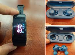 samsung iconx 2. here\u0027s what the samsung gear fit 2 and iconx cordless buds look like image 1 a