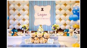 Small Picture 1st birthday party themes decorations at home for boys YouTube