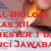 Adanya peradilan yang modern d. Soal Biologi Kelas 12 Dan Kunci Jawaban Guru Galeri