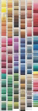 Mettler Color Chart Dmc Color Chart Amann Group Mettler Cross Stitch Thread