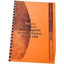 amazon com new deutz (allis) d4006 d4506 d4507 tractor manual deutz emr2 wiring diagram at Deutz Wiring Diagram