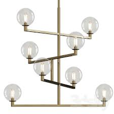 tech lighting gambit led chandelier