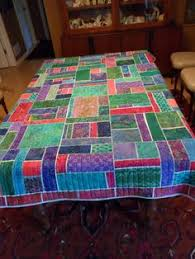 Quilting: Quilted Tablecloth | Kitchen & Table Quilts | Pinterest ... & mosaic quilt tablecloth, by Ruth Mendel. ComforterTableclothsMosaicsTable  ... Adamdwight.com