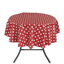 polka dot table cloth essential design indoor outdoor tablecloth pink cover linen round plastic polka dot table cloth tablecloth inch round