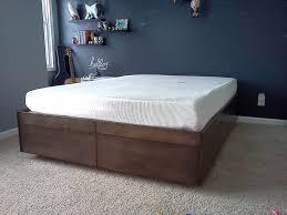 platform bed walmart. Image Of: Walmart Platform Beds Large Bed
