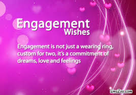 Engagement Wishes Quotes for Friend, Sister, Fiance
