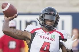Ottawa Redblacks Depth Chart 2017 Ottawa Redblacks Prepare To Use Two Quarterbacks Against