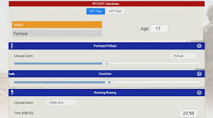 Described Usmc Pft Scoring Marine Corps Pft Chart Marine